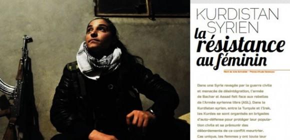 La résistance au féminin dans le Kurdistan syrien sur France Culture