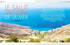 Grèce : Le salut viendra de la mer
