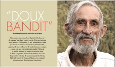 """""""Doux bandit"""", portrait de l'activiste Jean-Baptiste Libouban"""