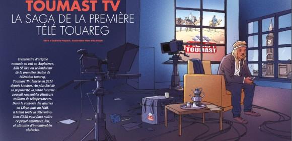 Toumast TV, la saga de la première télé touareg