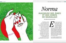 Norma, masseuse des âmes et des cœurs de Ramallah