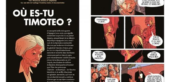 «Où es-tu Timoteo ?», la quête pour la dignité et la justice d'Ascensión