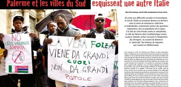 Réfugiés, Palerme et les villes du Sud esquissent une autre Italie