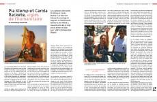 Pia Klemp et Carola Rackete, les vigies de l'humanitaire