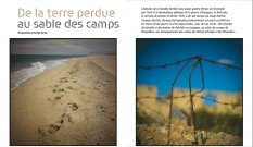 Photo : De la terre perdue au sable des camps