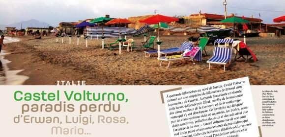Naples: Castel Volturno, paradis perdu d'Erwan, Luigi, Rosa, Mario…