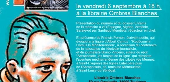 Gibraltar à la librairie Ombres Blanches de Toulouse