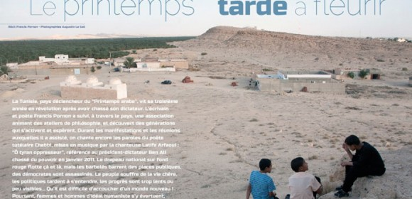 Tunisie – Le printemps tarde à fleurir