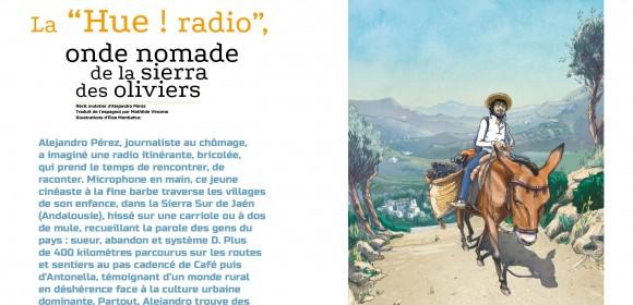Espagne : Larrearadio, radio nomade à l'écoute de la sierra des oliviers
