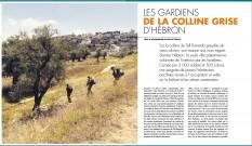 Les gardiens de la colline grise d'Hébron