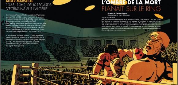 """""""L'ombre de la mort planait sur le ring"""", récit haletant de Yasmina Khadra"""