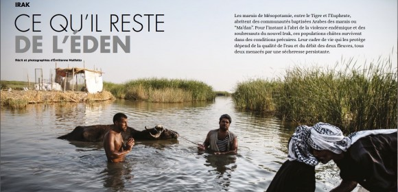 Irak : dans les marais de Mésopotamie, un éden menacé