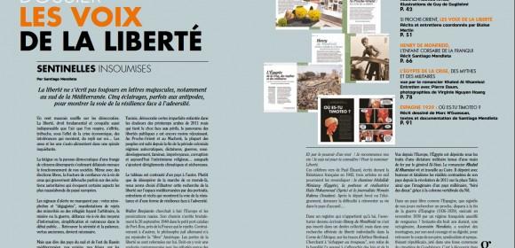 Dossier les Voix de la Liberté : de Walter Benjamin aux artistes du Proche-Orient…