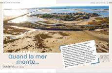 Camargue, quand la mer monte…