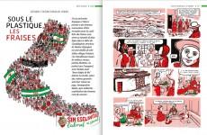 Andalousie: Sous le plastique, les fraises